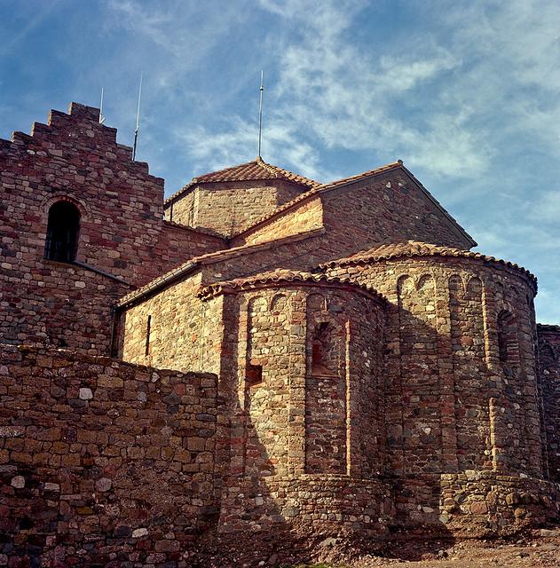 Composició: Sant Llorenç / Romanesque volume study