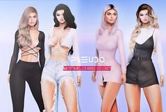 Pseudo Nicole Top & Piper Dress  @ equal10