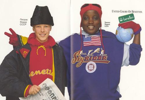 Benetton USSR & USA ad