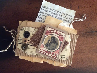 Coffee Sleeve Mini Journal Gift Card