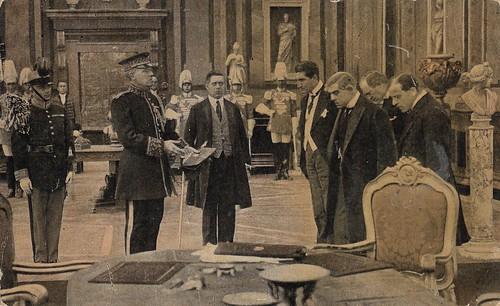 Ignazio Lupi and Alfonso Cassini in Il potere sovrano (1916)