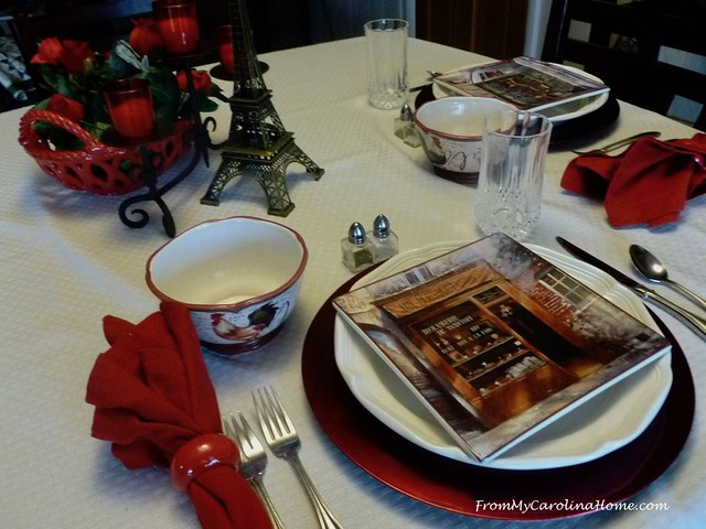 Table for 2 at FromMyCarolinaHome.com