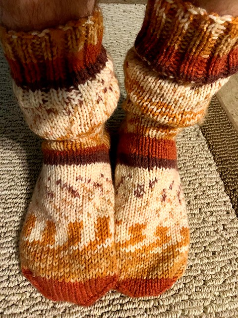 Home Office Wool Sock Day