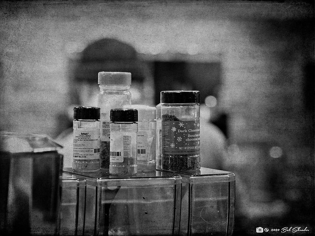 Bottles in Focus