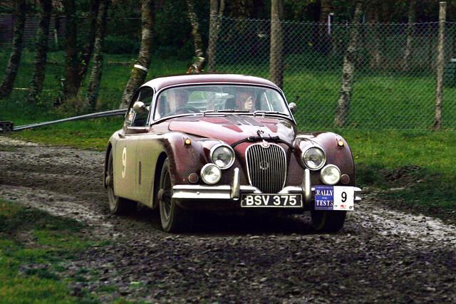 Rally of the tests Jaguar