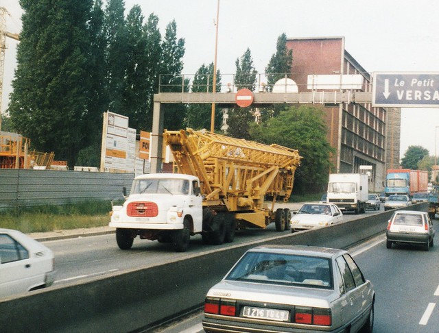 Tatra 148 6x4 Châtenay-Malabry (92 Hauts de Seine) 1991a