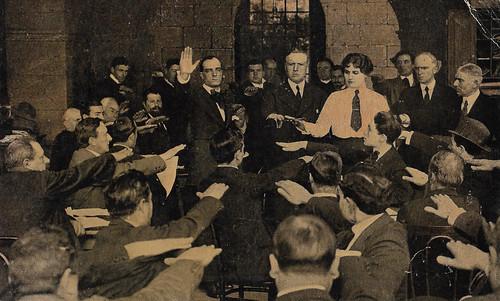 Emilio Ghione and Hesperia in Il potere sovrano (1916)