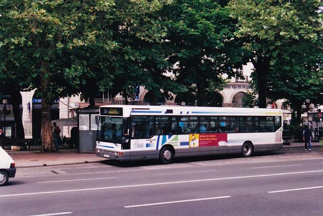 Setra S300NC Réseau Fil Bleu 604 Tours (37 Indre et Loire) 1995a