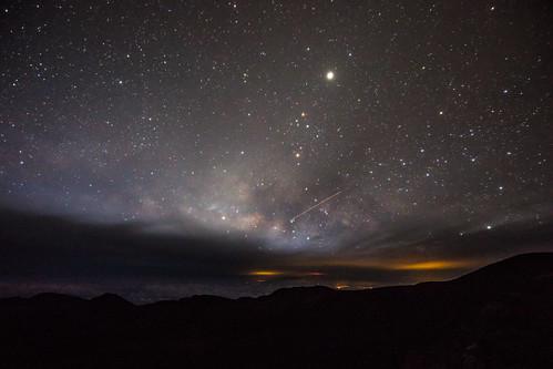 america haleakala haleakalacrater haleakalānationalpark hawaii maui usa unitedstates unitedstatesofamerica stars sunrise volcano kula fav10 fav25 fav50 fav100