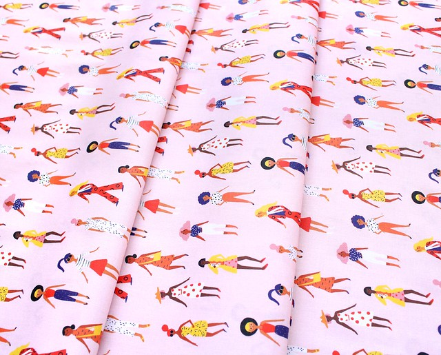 Paintbrush Studio Fabrics Friends and Faces 120-21478 Mademoiselle