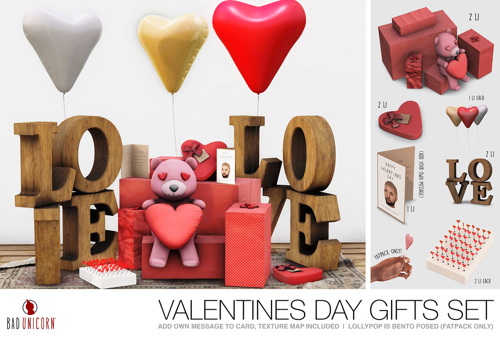 NEW! Valentines Day Gifts Set @ EQUAL10