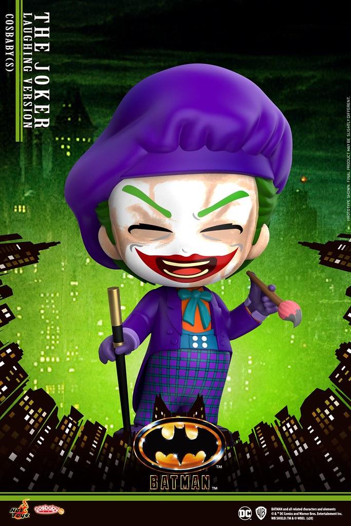 經典宿敵登場! Hot Toys - COSB709 - COSB713 -《蝙蝠俠(1989)》蝙蝠俠 (Batman)、小丑(The Joker) 數款 Cosbaby 發表!