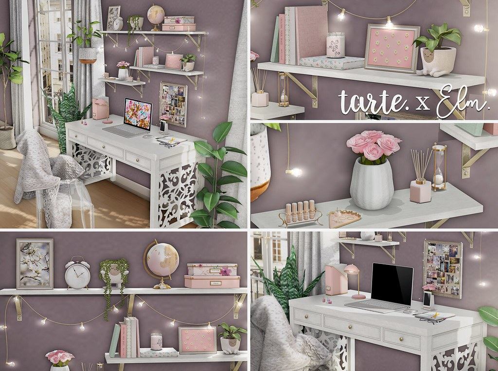 Elm. x Tarte - Isabelle Home Office Collection for C88