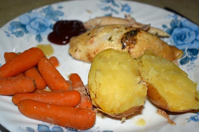 Chicken Dinner.
