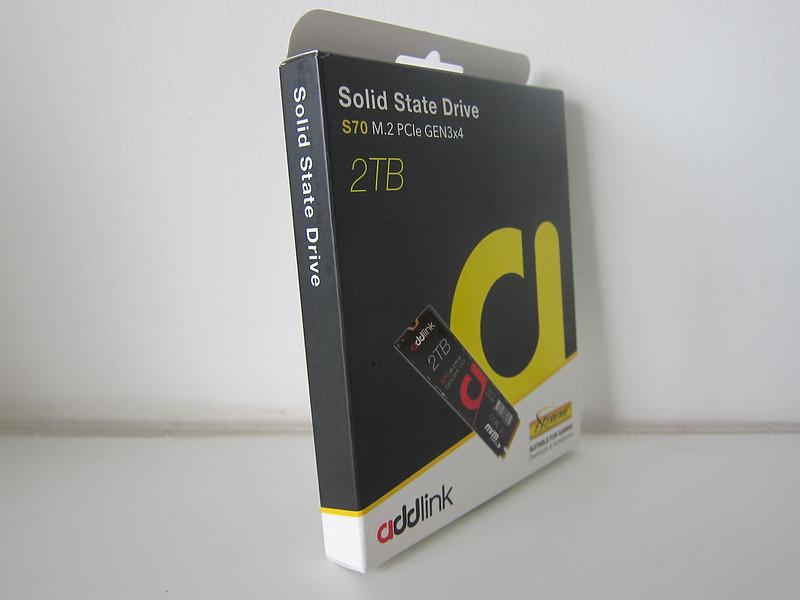 addlink S70 2TB NVMe M.2 SSD - Box