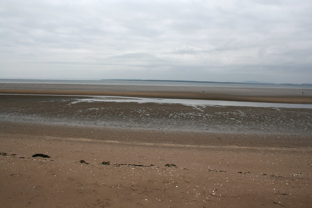 The coast near Carnoustie