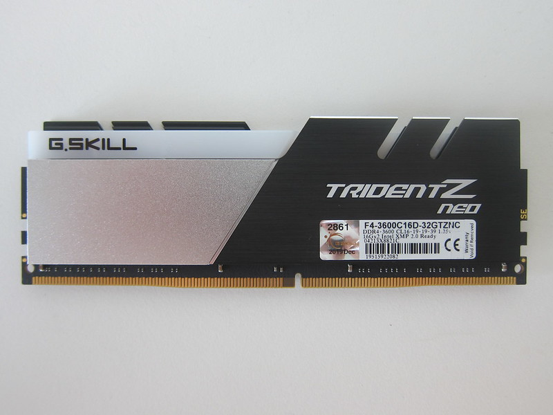 G.Skill Trident Z Neo Series 32GB RAM - Front