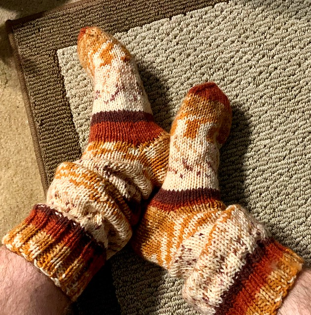 Home Office Wool Sock Day 2
