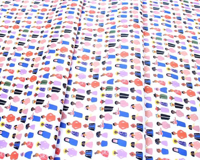 Paintbrush Studio Fabrics Friends and Faces 120-21474 Friends