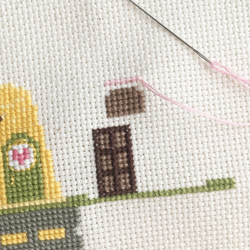 February's Kawaii Crossing (unfinished) Cross Stitch