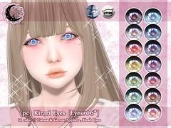 (pc) Kirari Eyes [Catwa/Genus/Mesh eye] @ Mainstore
