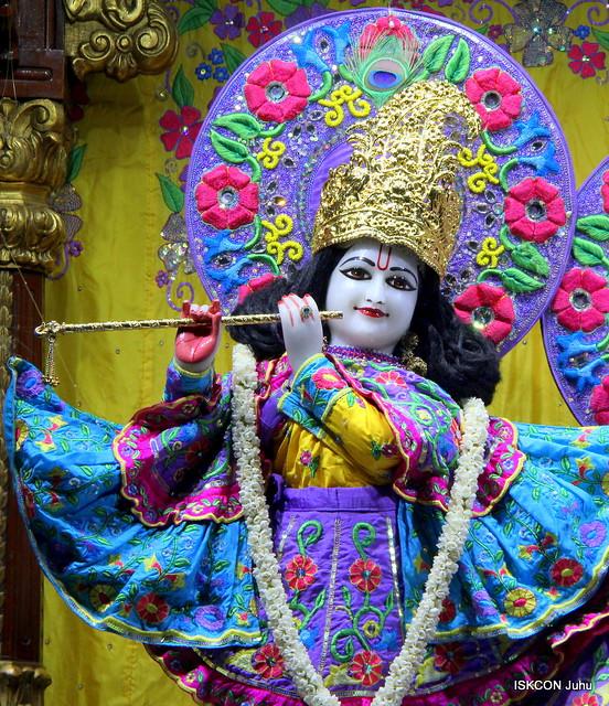 ISKCON Juhu Mangal Deity Darshan on 12th Feb 2020