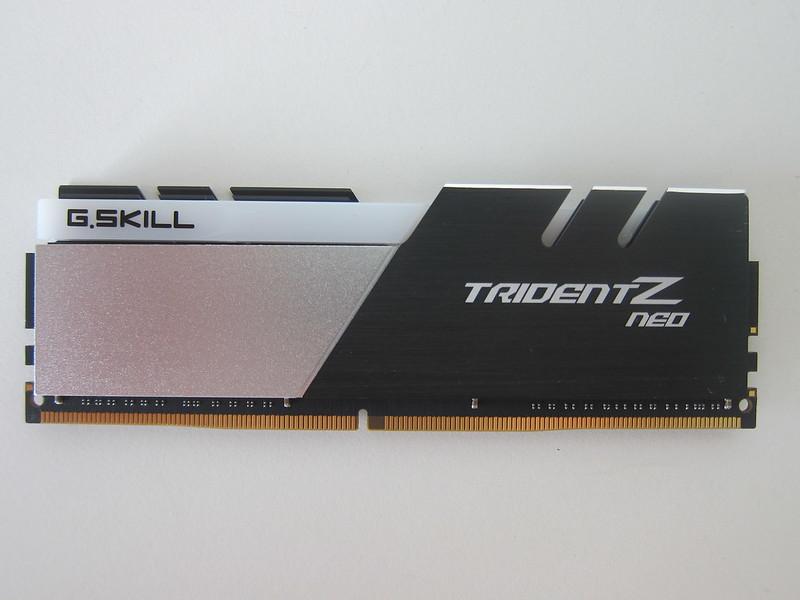 G.Skill Trident Z Neo Series 32GB RAM - Back