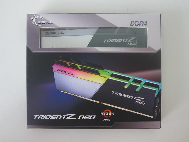 G.Skill Trident Z Neo Series 32GB RAM - Box Front