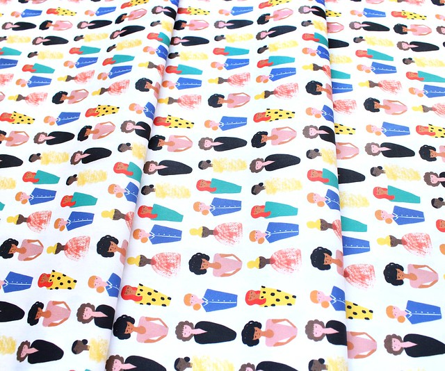 Paintbrush Studio Fabrics Friends and Faces 120-21477 More Ladies