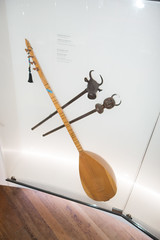 Stringed instrument and scepters