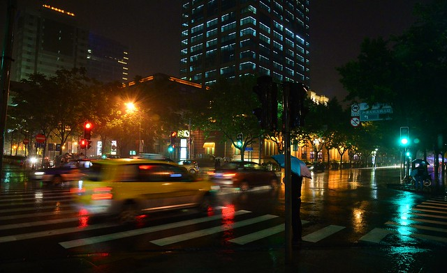 Shanghai - Rainy Night