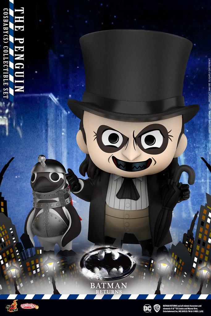 Hot Toys - COSB714 - COSB718 -《蝙蝠俠大顯神威》貓女 (Catwoman)、蝙蝠俠 (Batman)、企鵝人 (Penguin) 數款 Cosbaby 發表!