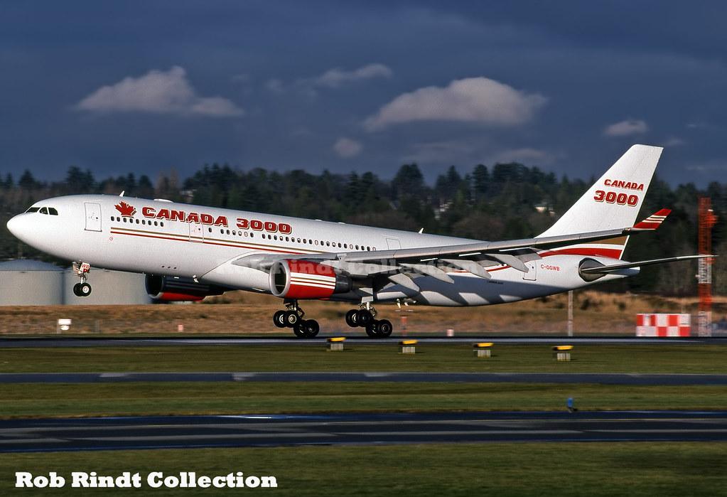 Canada 3000 A330-202 C-GGWB