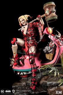 華麗又俏皮的暴走族哈莉! XM Studios DC Premium Collectibles Samurai Series【哈莉·奎茵】Harley Quinn 1/4 比例全身雕像