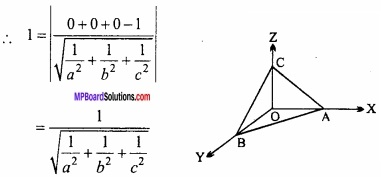 MP Board Class 12th Maths Important Questions Chapter 11 त्रि-विमीय ज्यामिति img 41