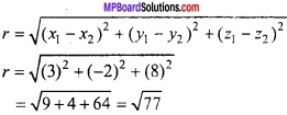 MP Board Class 12th Maths Important Questions Chapter 11 त्रि-विमीय ज्यामिति img 3