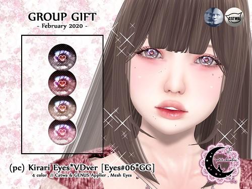 (pc) Kirari Eyes VDver [Group Gift / Feb 2020]