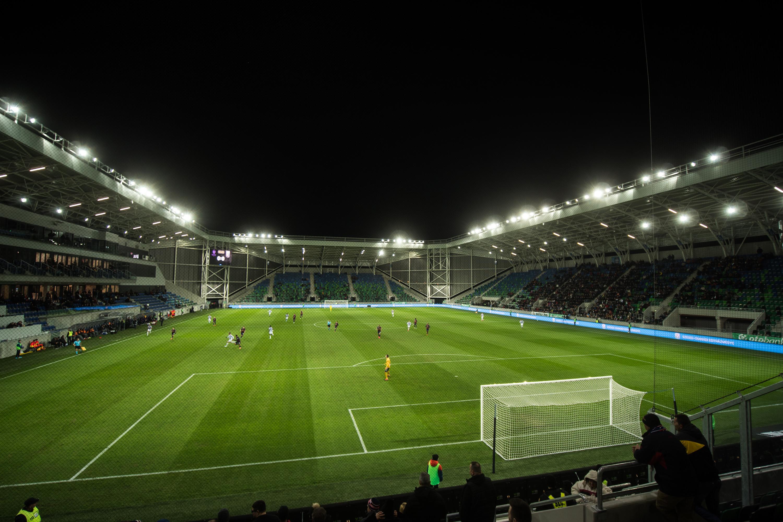 Kimentünk a Szegeden rendezett Újpest-Fehérvár meccsre