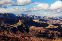 Storm Clouds and Shadows, Grand Canyon National Park