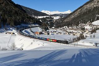 "MRCE / FS Mercitalia Rail 193 710 ""e-mobility 140 years"" Sankt Jodok (3990n)"