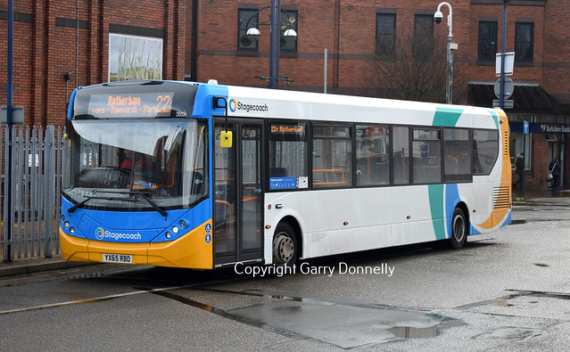 Stagecoach Yorkshire 26026 YX65 RBO - New Stagecoach Livery!