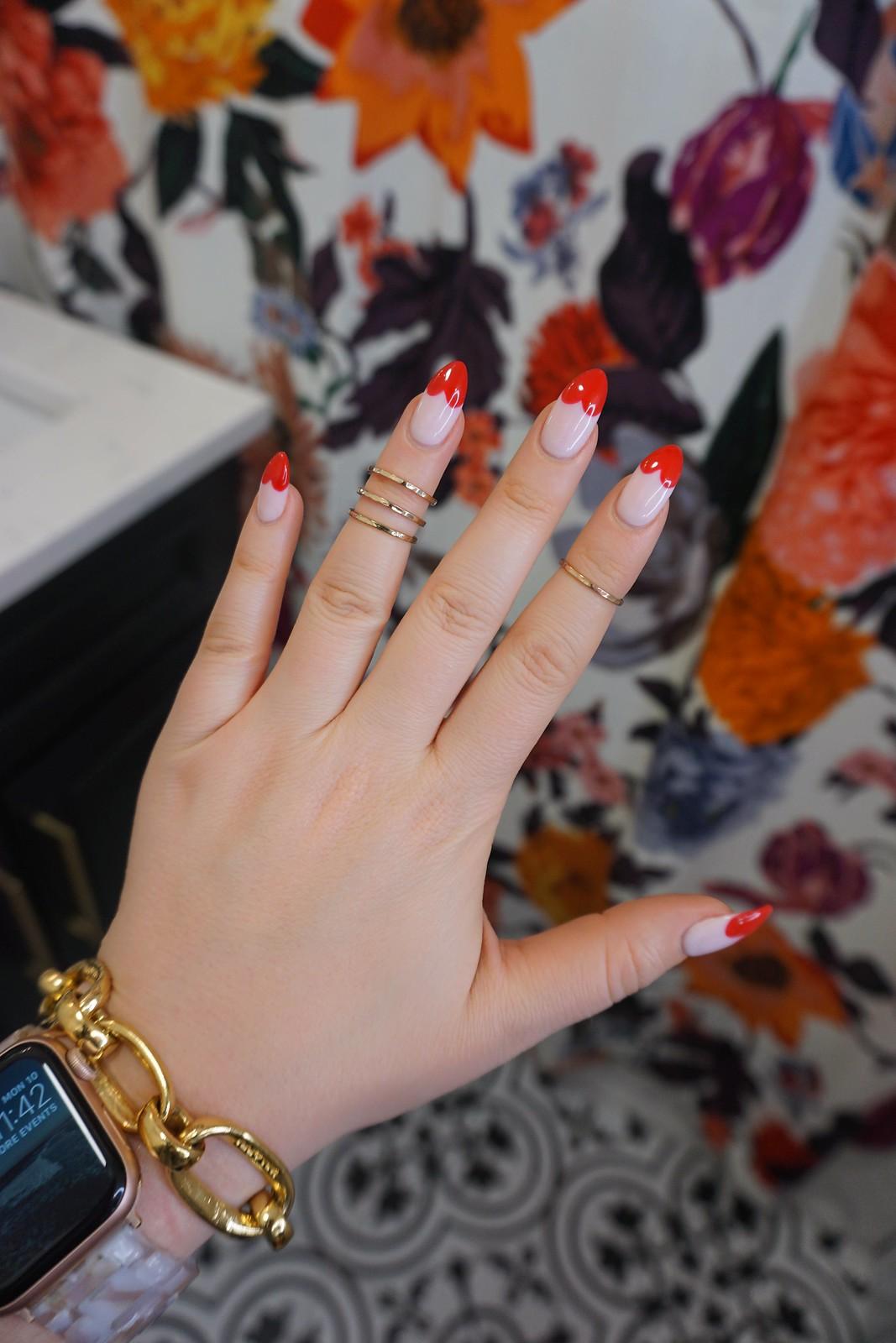 Heart Nails   Heart Manicure   Pink Red Nail Art   Valentines Day Nail Inspiration   Galentines Day Nail Art   Nail Ideas   Nail Designs   UV Nails   Hard Gel Manicure