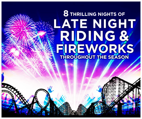 LATE NIGHT RIDING AND FIREWORKS