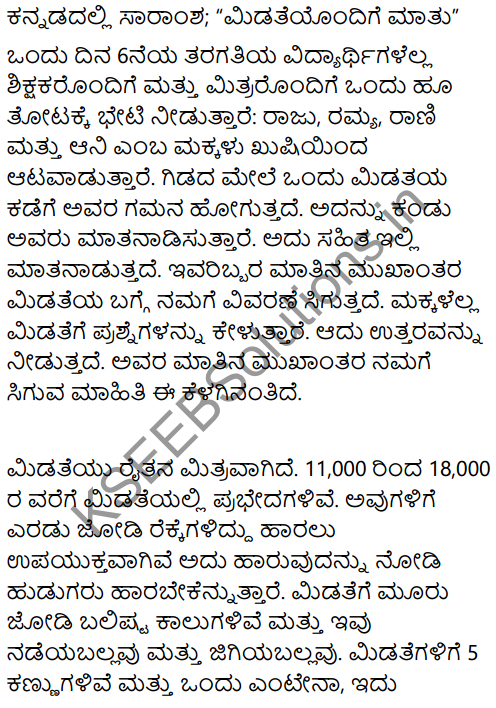 A Chat with a Grasshopper Summary in Kannada 1