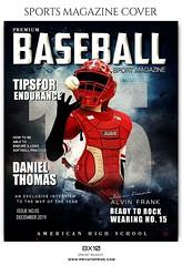 Baseball - Sports Photography Magazine Cover templates