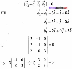 MP Board Class 12th Maths Important Questions Chapter 11 त्रि-विमीय ज्यामिति img 34