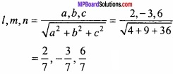 MP Board Class 12th Maths Important Questions Chapter 11 त्रि-विमीय ज्यामिति img 13