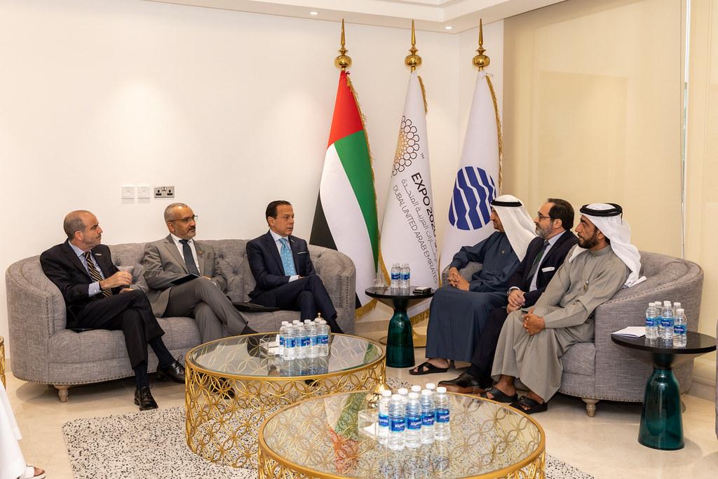 Reunião com o CEO da EXPO Dubai 2020, Najeeb Al-Ali