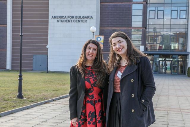 Ambassador Mustafa Visits American University in Bulgaria