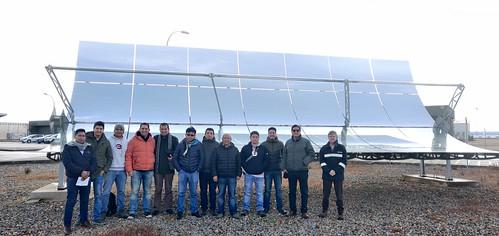 Visita Central Termosolar Manchasol 1 en Ciudad Real Miércoles 29 de enero de 2020